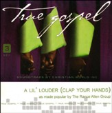 A Lil' Louder (Clap Your Hands), Acc CD