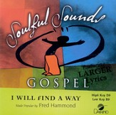 I Will Find A Way, Accompaniment CD