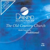The Old Country Church, Accompaniment CD