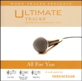 All For You (Low Key Performance Track With Background Vocals) [Music Download]