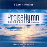 I Don't Regret, Accompaniment CD