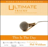 This Is The Day (Medium Key Performance Track w/ Background Vocals) [Music Download]