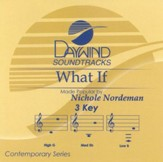 What If, Accompaniment CD