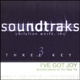 I've Got Joy, Accompaniment CD
