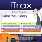 Give You Glory, Accompaniment CD