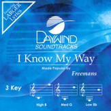 I Know My Way Acc, CD
