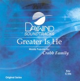 Greater Is He, Accompaniment CD