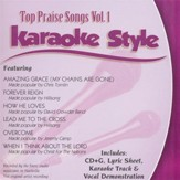Top Praise Songs Volume 1, Karaoke CD