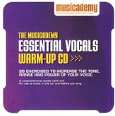 The Musicademy Essential Vocals Warm-up, CD