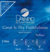 Great Is Thy Faithfulness, Accompaniment Track