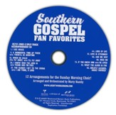 Southern Gospel Fan Favorites, Split-Track  Accompaniment CD