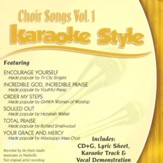 Choir Songs, Volume 1, Karaoke Style CD