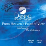 From Heaven's Point Of View, Accompaniment CD