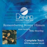 Remembering Kenny Hinson, (Complete Track) Acc CD