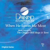 When He Loves Me Most, Accompaniment CD