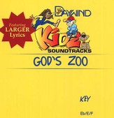 God's Zoo, Accompaniment CD