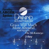Grace Will Much More Abound, Accompaniment CD