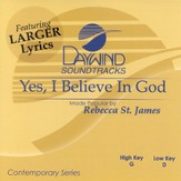 Yes I Believe In God, Accompaniment CD