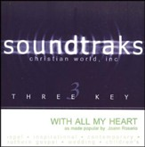 With All My Heart, Accompaniment CD