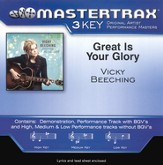 Great Is Your Glory, Accompaniment CD