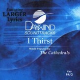 I Thirst, Accompaniment CD