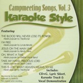 Campmeeting Songs Volume 3, Karaoke Style CD