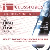 What Salvation's Done For Me Accompaniment CD