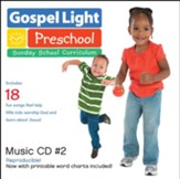 Ages 2 to 5 Preschool Music #2 CD, Reproducible, Spring 2015, Year B