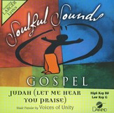 Judah (Let Me Hear You Praise) Acc, CD