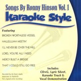 Songs By Ronny Hinson, Vol. 1 Karaoke Style, CD