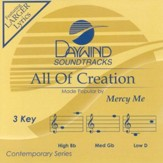 All Of Creation, Accompaniment CD
