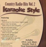 Country Radio Hits Volume 2, Karaoke Style CD