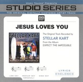 Jesus Loves You - Original Key w/ Background Vocals [Music Download]