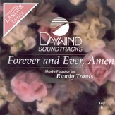 Forever and Ever, Amen, Accompaniment CD