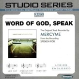 Word of God, Speak, Accompaniment CD