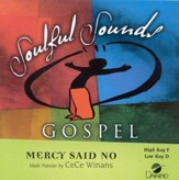 Mercy Said No, Accompaniment CD