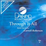 Through It All, Accompaniment CD
