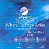 When He Says Arise, Accompaniment CD