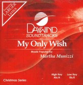 My Only Wish, Accompaniment CD
