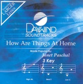 How Are Things At Home, Accompaniment CD