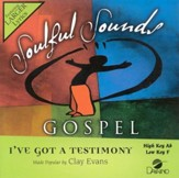 I've Got A Testimony, Accompaniment CD
