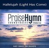 Hallelujah (Light Has Come), Accompaniment CD