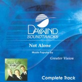 Not Alone, Complete CD Tracks