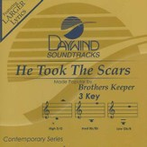 He Took The Scars, Accompaniment CD