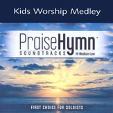Kids Worship Medley, Accompaniment CD