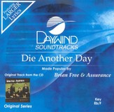 Die Another Day, Accompaniment CD