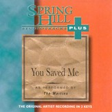 You Saved Me, Accompaniment CD