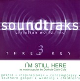 I'm Still Here, Accompaniment CD
