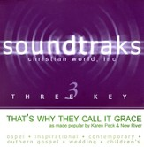That's Why They Call It Grace, Accompaniment CD