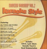 Modern Worship, Volume 2, Karaoke Style CD